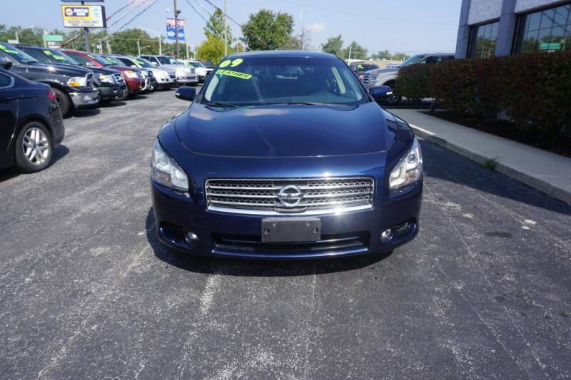 2009 Nissan Maxima for sale at Ultimate Auto Deals DBA Hernandez Auto Connection in Fort Wayne IN