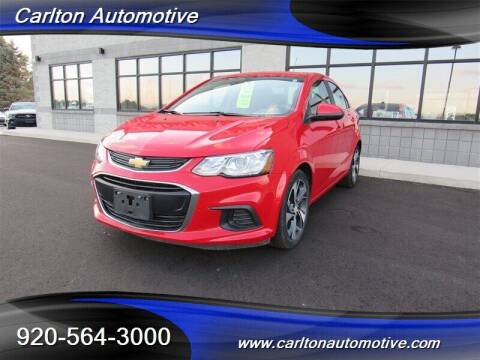2019 Chevrolet Sonic for sale at Carlton Automotive Inc in Oostburg WI