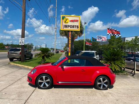 2013 Volkswagen Beetle Convertible for sale at A to Z IMPORTS in Metairie LA