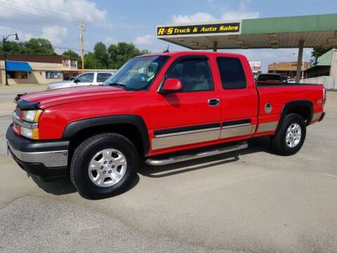2005 Chevrolet Silverado 1500 for sale at R & S TRUCK & AUTO SALES in Vinita OK