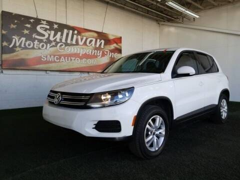 2012 Volkswagen Tiguan for sale at SULLIVAN MOTOR COMPANY INC. in Mesa AZ