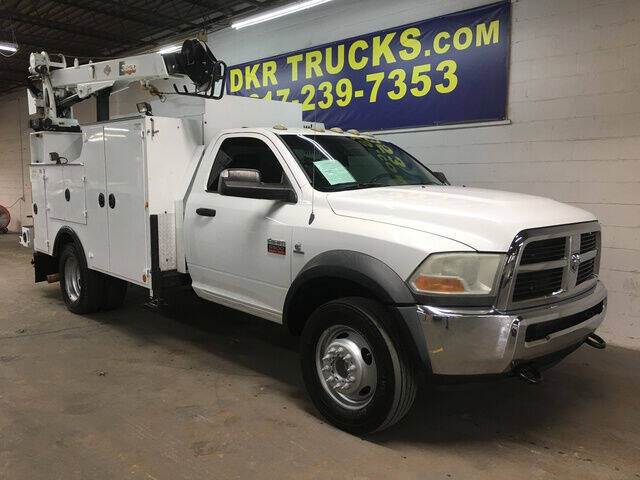 2011 Dodge RAM 4500 Reg Cab w/3820 IMT 75 for sale at DKR Trucks in Arlington TX