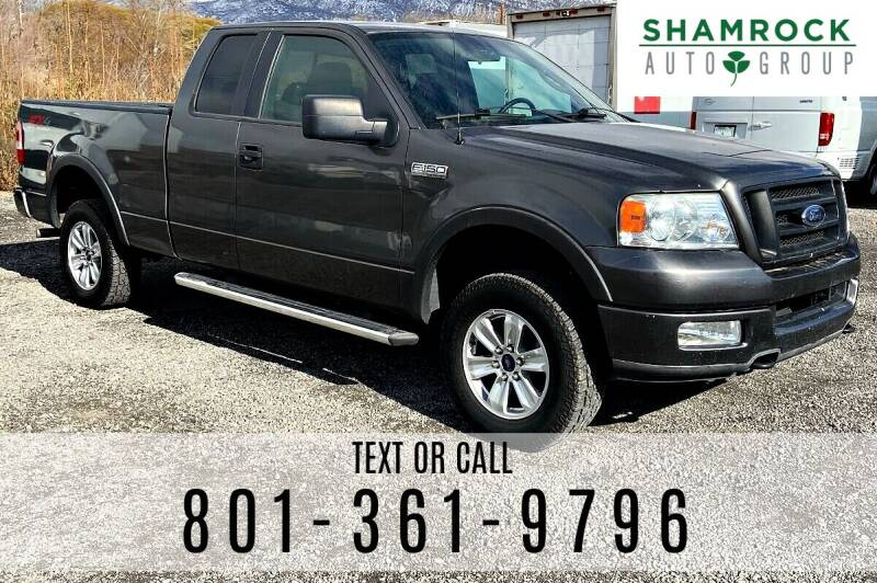2005 Ford F-150 for sale at Shamrock Group LLC #1 in Pleasant Grove UT