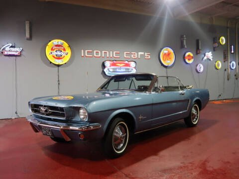1965 Ford Mustang for sale at Iconic Motors of Oklahoma City, LLC in Oklahoma City OK