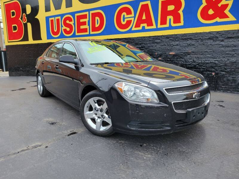2011 Chevrolet Malibu for sale at B & R Motor Sales in Chicago IL