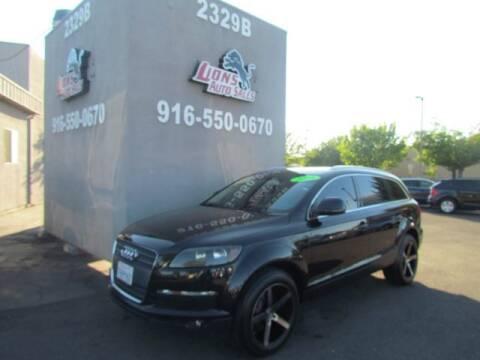 2008 Audi Q7 for sale at LIONS AUTO SALES in Sacramento CA