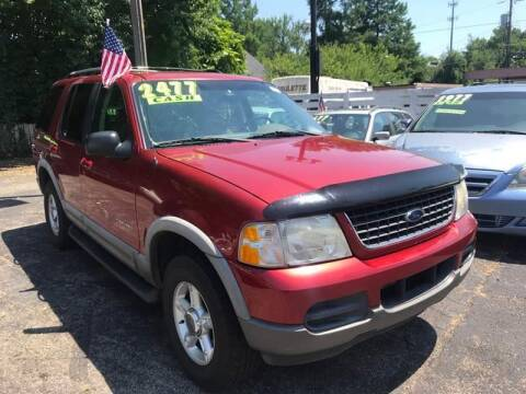2002 Ford Explorer for sale at Klein on Vine in Cincinnati OH