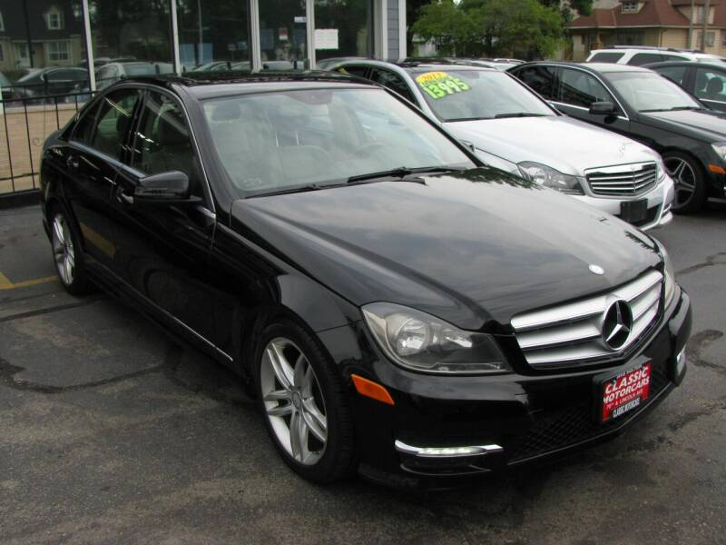 2012 Mercedes-Benz C-Class for sale at CLASSIC MOTOR CARS in West Allis WI