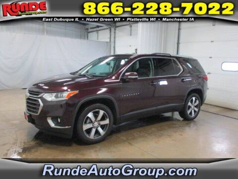 2018 Chevrolet Traverse for sale at Runde Chevrolet in East Dubuque IL