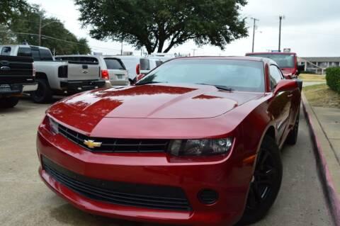 2015 Chevrolet Camaro for sale at E-Auto Groups in Dallas TX