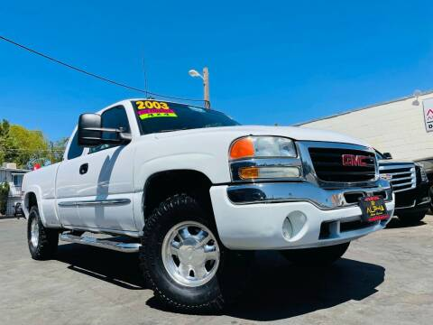 2003 GMC Sierra 1500 for sale at Alpha AutoSports in Roseville CA