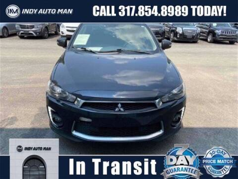 2017 Mitsubishi Lancer for sale at INDY AUTO MAN in Indianapolis IN
