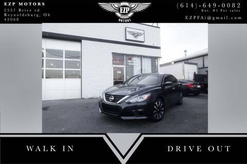 2018 Nissan Altima for sale at EZP Motors in Reynoldsburg OH