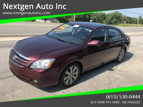 2007 Toyota Avalon for sale at Nextgen Auto Inc in Smithville TN
