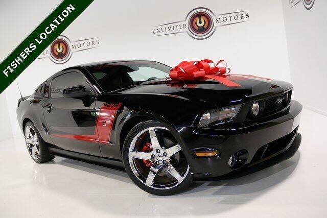 2010 Ford Mustang for sale at Unlimited Motors in Fishers IN