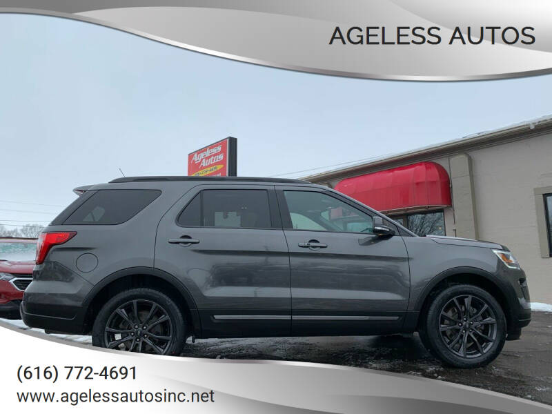 2018 Ford Explorer for sale at Ageless Autos in Zeeland MI