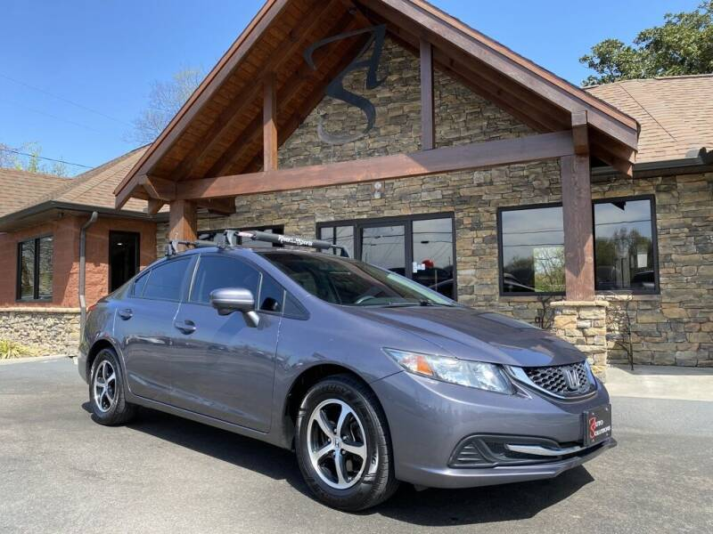 2015 Honda Civic for sale at Auto Solutions in Maryville TN