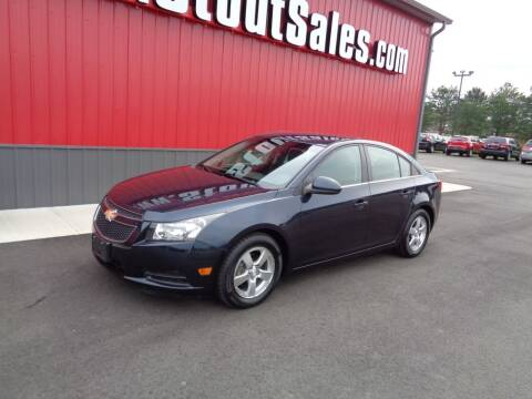 2014 Chevrolet Cruze for sale at Stout Sales in Fairborn OH