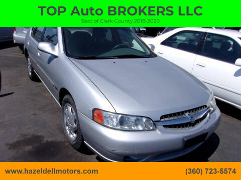 2001 Nissan Altima for sale at TOP Auto BROKERS LLC in Vancouver WA