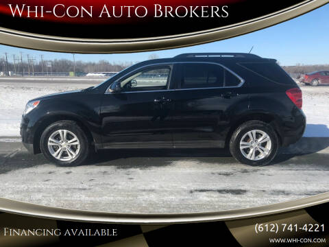 2014 Chevrolet Equinox for sale at Whi-Con Auto Brokers in Shakopee MN