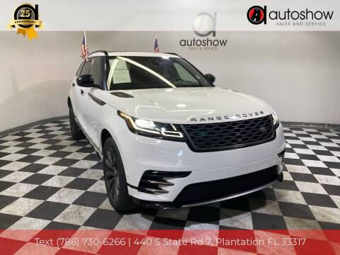 2018 Land Rover Range Rover Velar for sale at AUTOSHOW SALES & SERVICE in Plantation FL