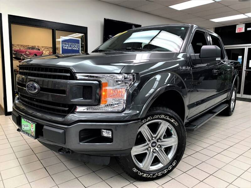 2019 Ford F-150 for sale at SAINT CHARLES MOTORCARS in Saint Charles IL