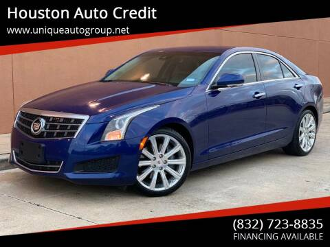 2013 Cadillac ATS for sale at Houston Auto Credit in Houston TX