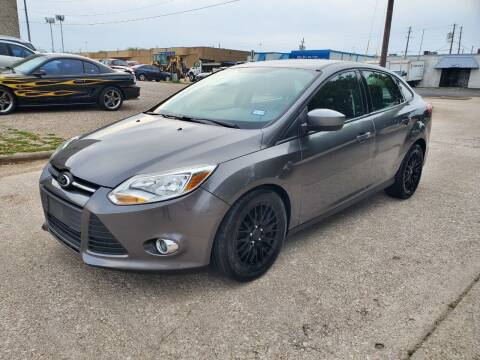 2012 Ford Focus for sale at DFW Autohaus in Dallas TX