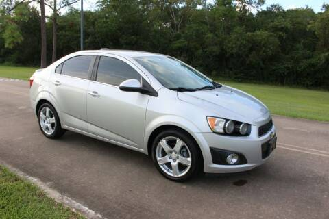 2015 Chevrolet Sonic for sale at Clear Lake Auto World in League City TX