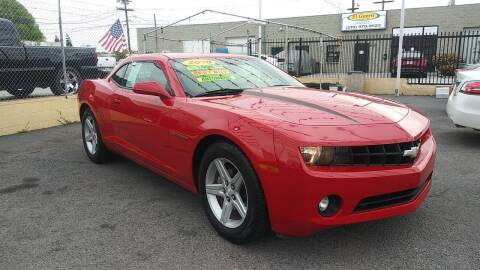 2010 Chevrolet Camaro for sale at El Guero Auto Sale in Hawthorne CA