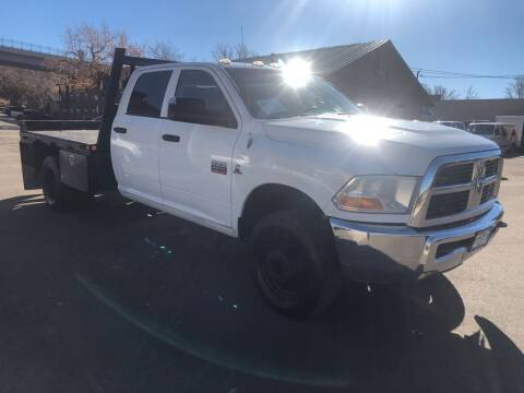 2012 RAM Ram Pickup 3500 for sale at BERKENKOTTER MOTORS in Brighton CO