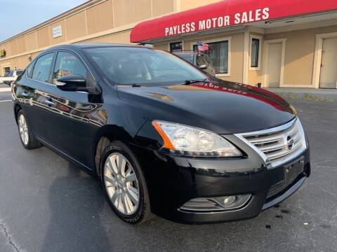 2015 Nissan Sentra for sale at Payless Motor Sales LLC in Burlington NC
