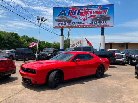 2018 Dodge Challenger for sale at ANF AUTO FINANCE in Houston TX