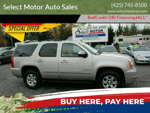 2007 GMC Yukon for sale at Select Motor Auto Sales in Lynnwood WA