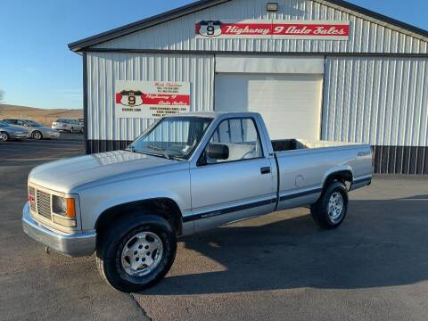 1988 GMC Sierra 1500 for sale at Highway 9 Auto Sales - Visit us at usnine.com in Ponca NE