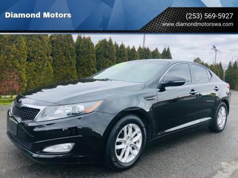 2012 Kia Optima for sale at Diamond Motors in Lakewood WA