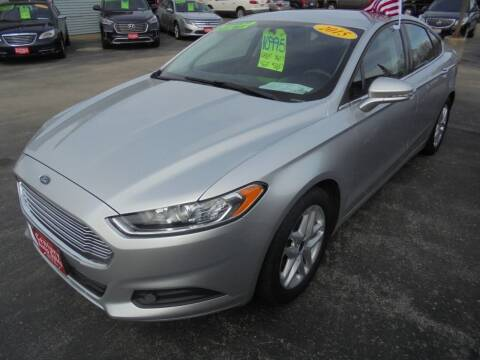 2015 Ford Fusion for sale at Century Auto Sales LLC in Appleton WI