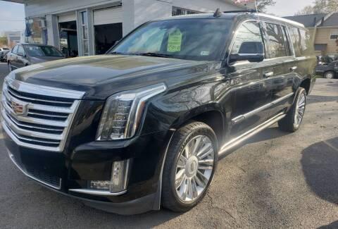 2016 Cadillac Escalade ESV for sale at Dad's Auto Sales in Newport News VA