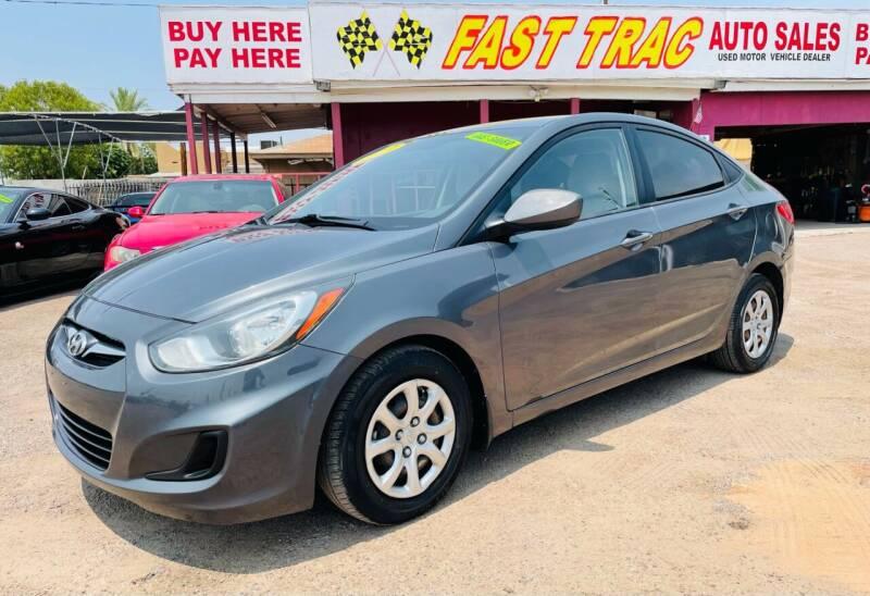 2013 Hyundai Accent for sale at Fast Trac Auto Sales in Phoenix AZ