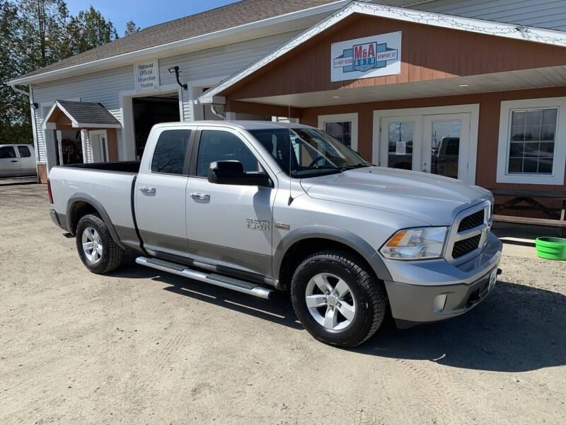 2013 RAM Ram Pickup 1500 for sale at M&A Auto in Newport VT