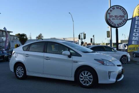 2013 Toyota Prius Plug-in Hybrid for sale at San Mateo Auto Sales in San Mateo CA