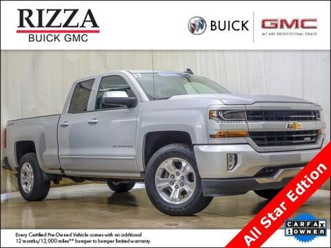 2017 Chevrolet Silverado 1500 for sale at Rizza Buick GMC Cadillac in Tinley Park IL