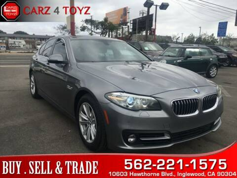 2015 BMW 5 Series for sale at Carz 4 Toyz in Inglewood CA