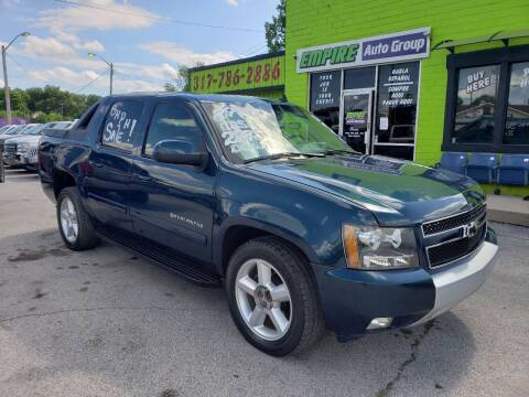 2007 Chevrolet Avalanche for sale at Empire Auto Group in Indianapolis IN