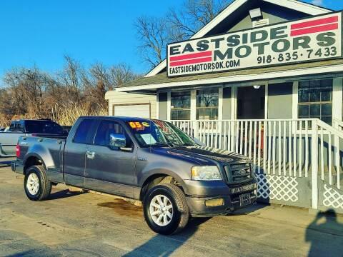 2005 Ford F-150 for sale at EASTSIDE MOTORS in Tulsa OK