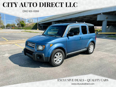 2008 Honda Element for sale at City Auto Direct LLC in Cleveland OH