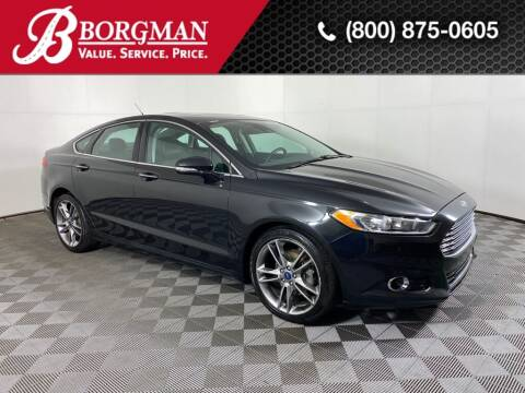 2013 Ford Fusion for sale at BORGMAN OF HOLLAND LLC in Holland MI