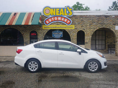 2016 Kia Rio for sale at Oneal's Automart LLC in Slidell LA