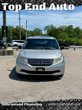 2011 Honda Odyssey for sale at Top End Auto in North Atteboro MA