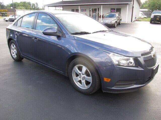2014 Chevrolet Cruze for sale at Thompson Motors LLC in Attica NY